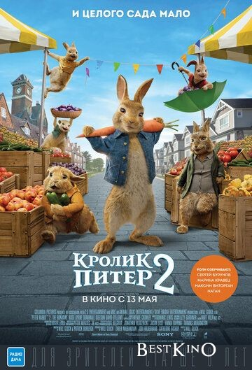 Кролик Питер 2 / Peter Rabbit 2: The Runaway (2021)